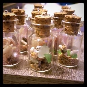 Fairy mermaid jars